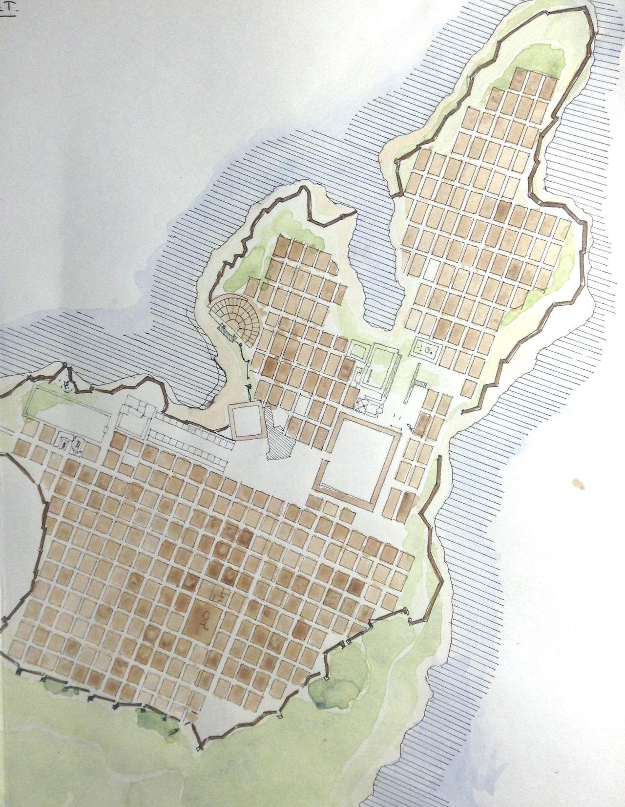 Miletus ancient port city in Western
