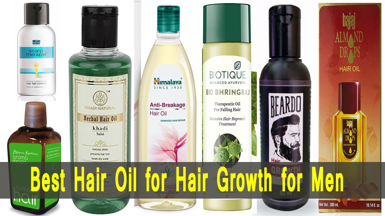10 Best Hair Oil for Hair Growth and Thickness for Men in