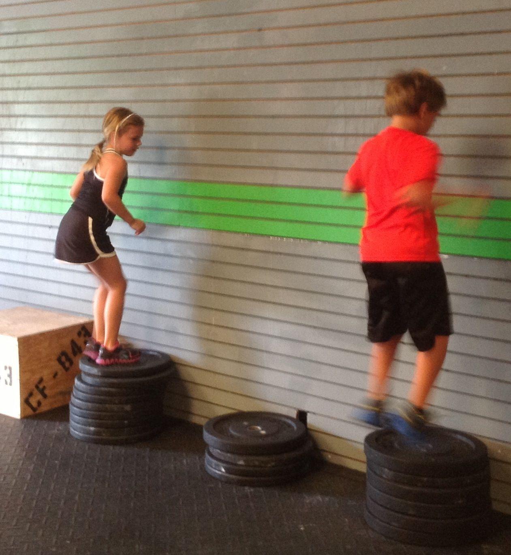 Kid Box Jumps Crossfit843 Crossfit Kids Crossfit Kids Exercise For Kids Kids Activity Center