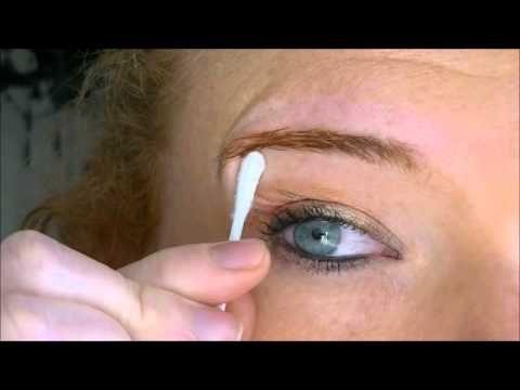 Augenbrauen frben leicht gemacht... - YouTube | Wellness ...