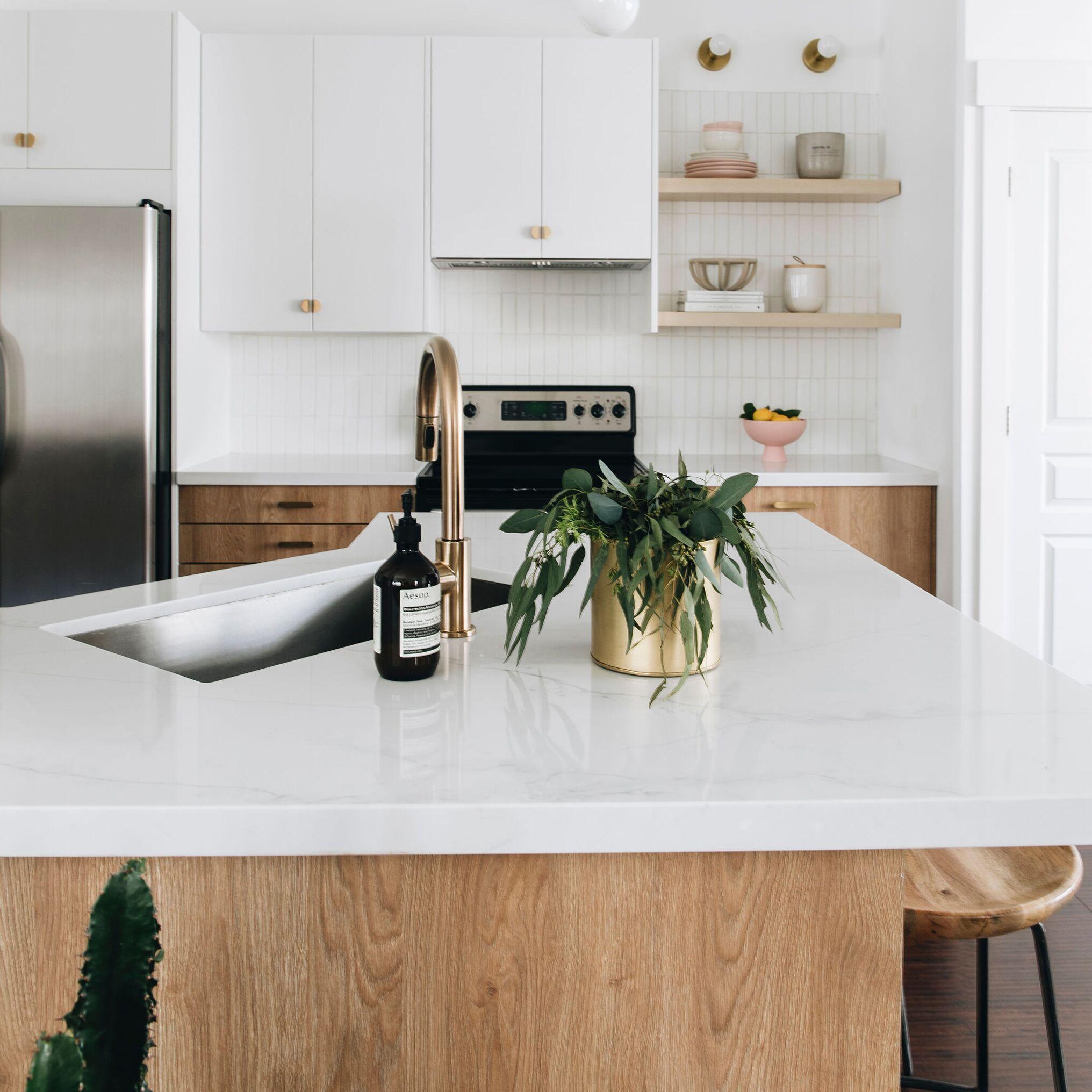 Hardware Apartments Salt Lake City: Gorgeous Kitchen Reno With A Minimalist Aesthetic