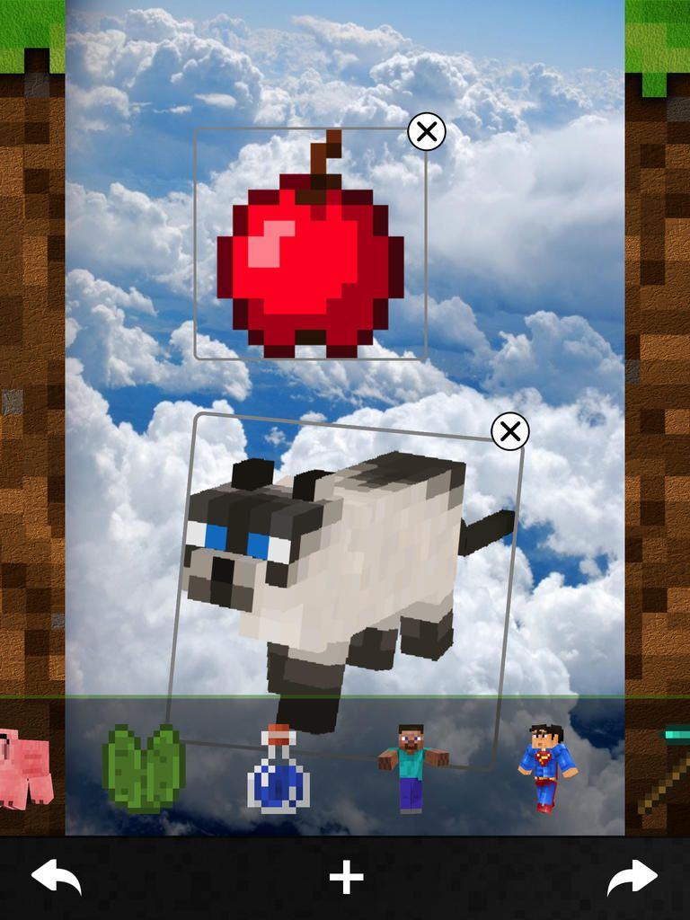 Minecam Pro Picture builder & photo editor on your