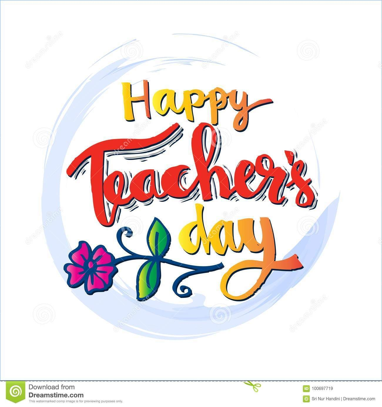 Happy Teachers Day Card Isolated Back Happy Teachers Day Card Teachers Day Card Happy Teachers Day