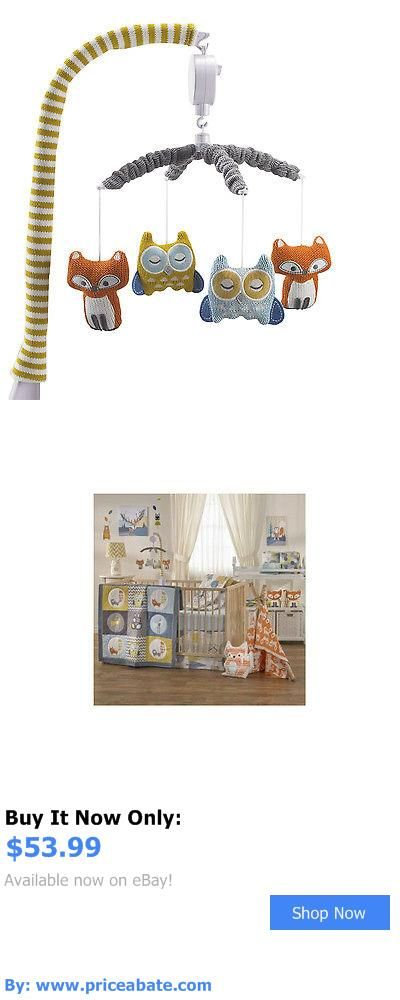 Baby Nursery: Lolli Living Woods Fox And Owl Musical Mobile BUY IT NOW ONLY: