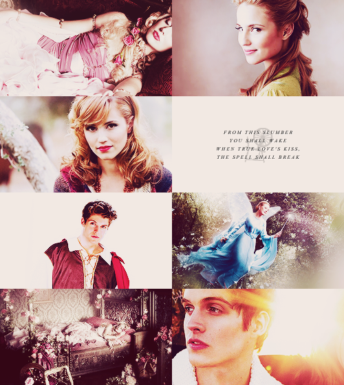 Fairytale → real life: Sleeping Beauty Dianna Agron as