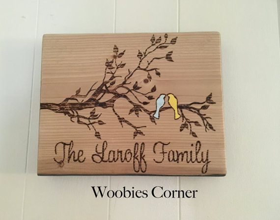 Rustic Home Decor, Custom Name Sign, Rustic Family Sign