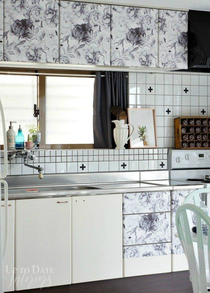 11 Temporary Kitchen Updates That Look Amazing | Contact paper ...