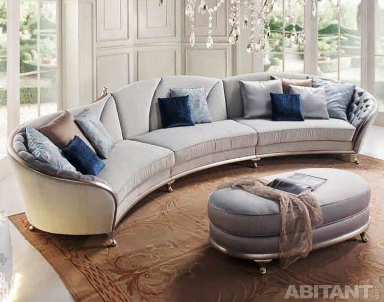 Captivating L Shaped Sofa Design Plus Fluffy Area Rug | Modern L Shaped Sofa Design Is  The Best Ideas For Your Interior | Pinterest | Interiors And Modern Part 7