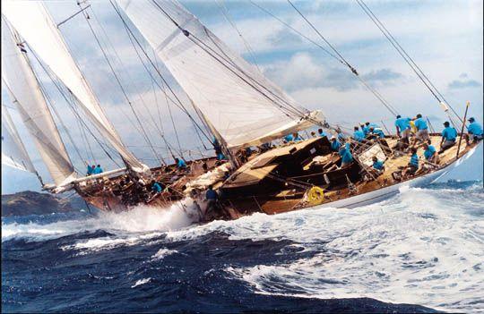 Windrose-152' schooner, Dykstra, 2001
