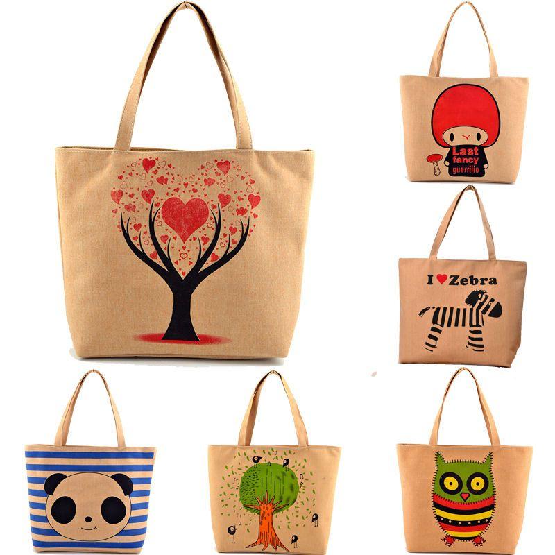 Women Canvas Floral Handbag Messenger Cross Body Shoulder Bag Tote Purse Pouch