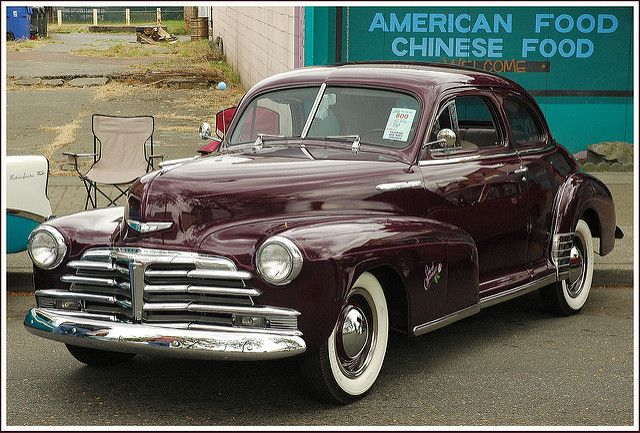 1948 Chevrolet Stylemaster Coupe | Ideas for my '48