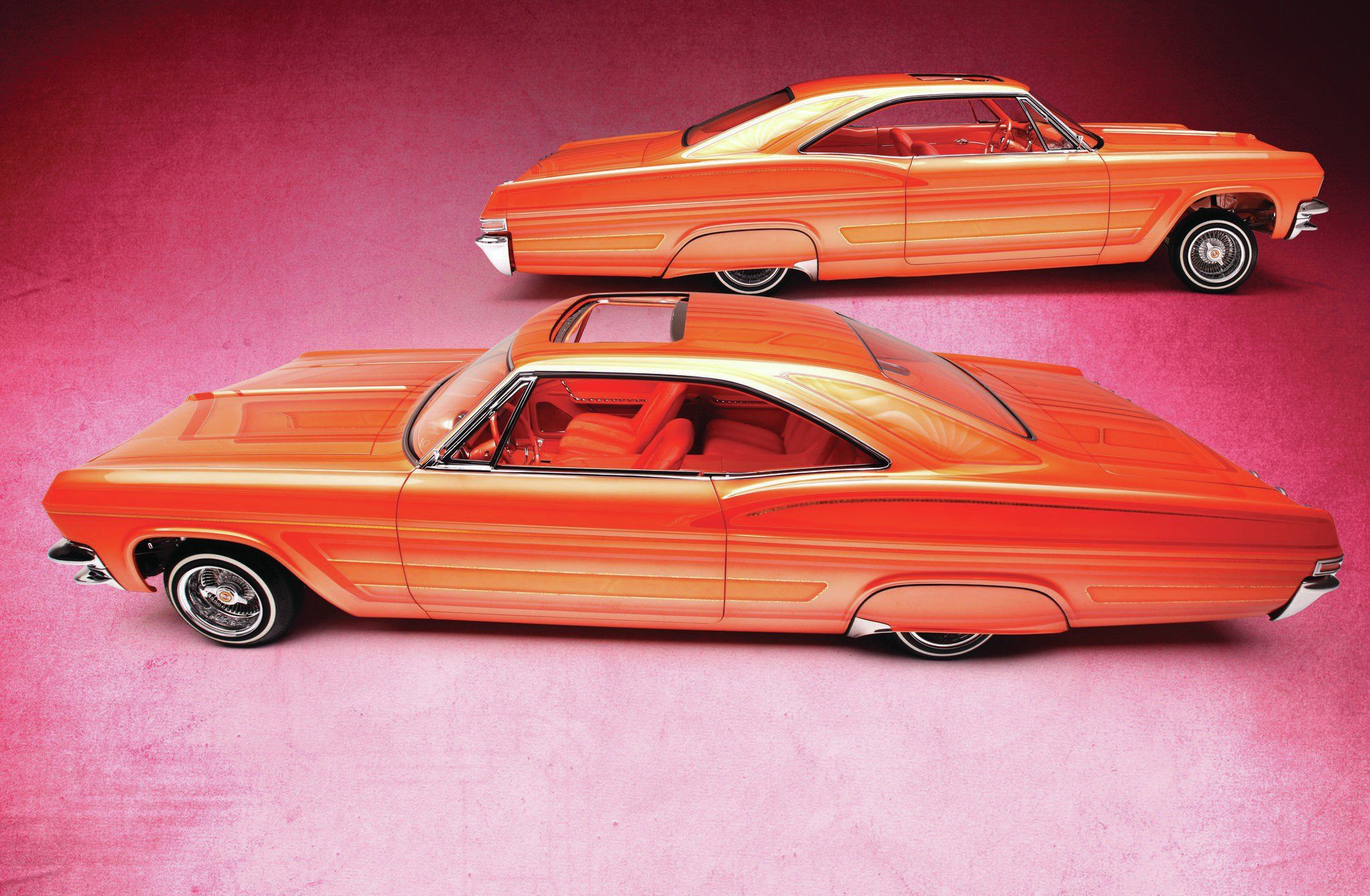 Jesse saldana s 1965 chevrolet impala ss has already been featured twice in the pages of lowrider