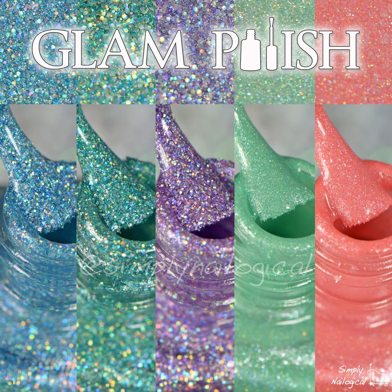 Glam Polish: Holos from the December 2014 collection by simplynailogical