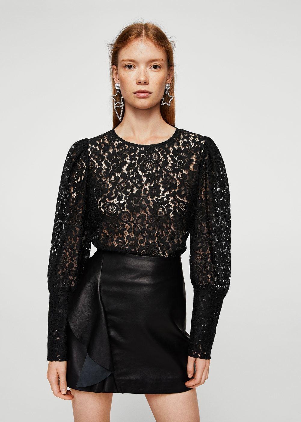 Blusa encaje - Camisas de Mujer  65769eaf611