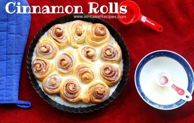 Start To Finish Video Recipe Cinnamon Rolls Recipe Cinnamon