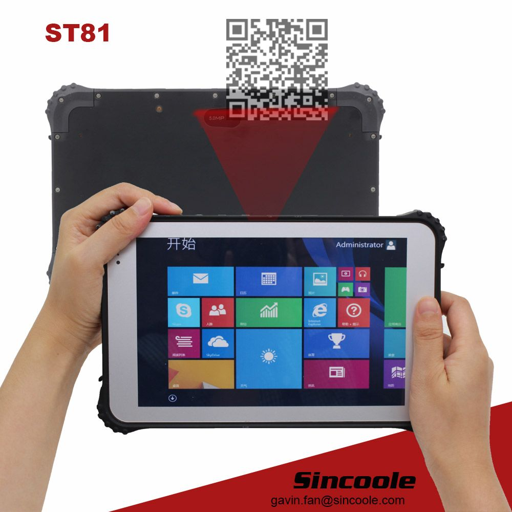 Docking Station Barcode Windows 8 Inch Rugged Tablet Rugged Tablet Tablet Computer Accessories