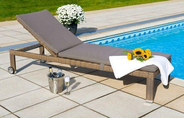 Designer Gartenliege gartenliege functional design garden edition pool http 1decor