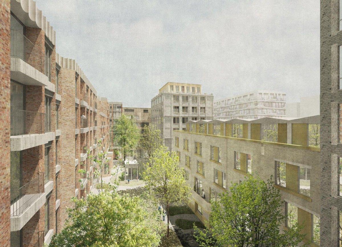Sergison bates wins antwerp housing competition news
