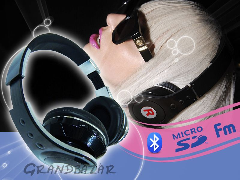 HD Stereo Bluetooth fejhallgató és headset   mp3 lejátszó + FM rádió ... a200780cc8
