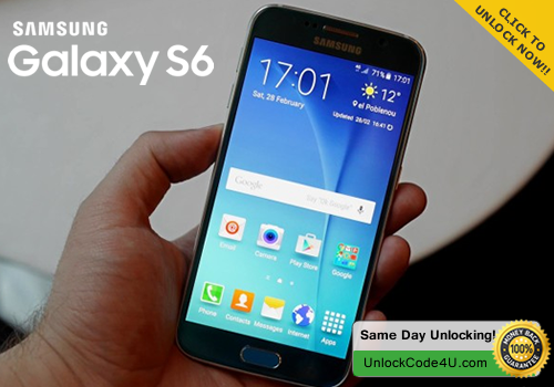 Samsung Galaxy S6 - Free Unlock Code for your S6 and use it in ANY