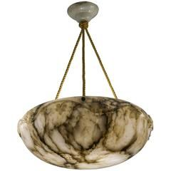 Alabaster Pendant With Images Vintage Chandelier Chandeliers