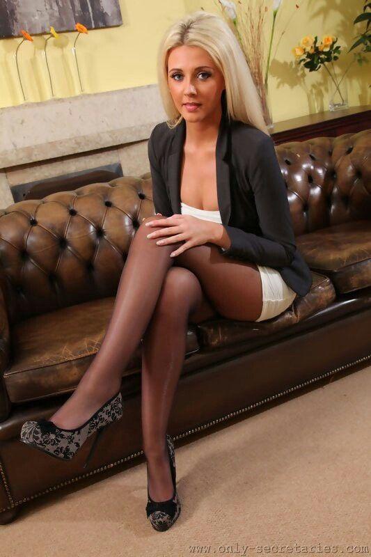 Blonde SekretäRin
