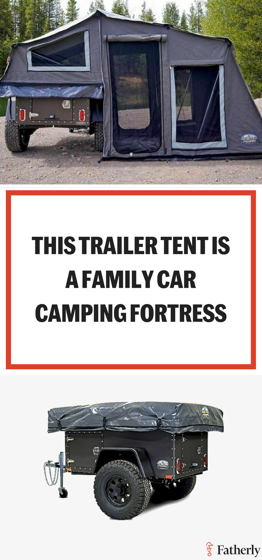 Photo of This Trailer Tent Turns Your Family Car Camp Into a Camp Fortress