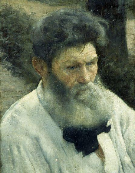 Bastien-Lepage Jules, Ritratto d'uomo, Galleria d'Arte Moderna Ricci Oddi, Piacenza