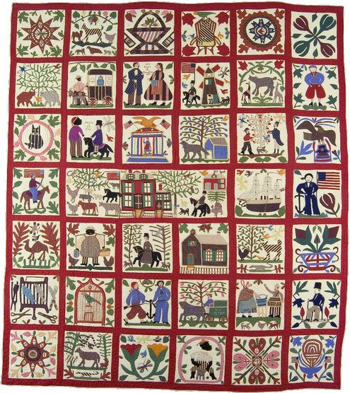 17 Best images about Fashion & Textile on Pinterest   Museum of ... : historical quilts - Adamdwight.com