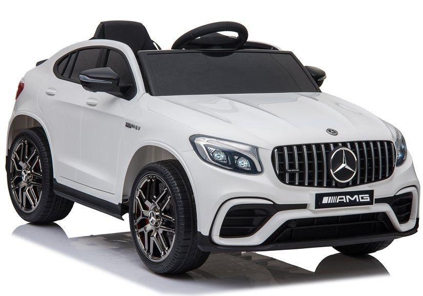 Auto Na Akumulator Mercedes Glc 63s Bialy In 2020 Mercedes 4x4 Auto