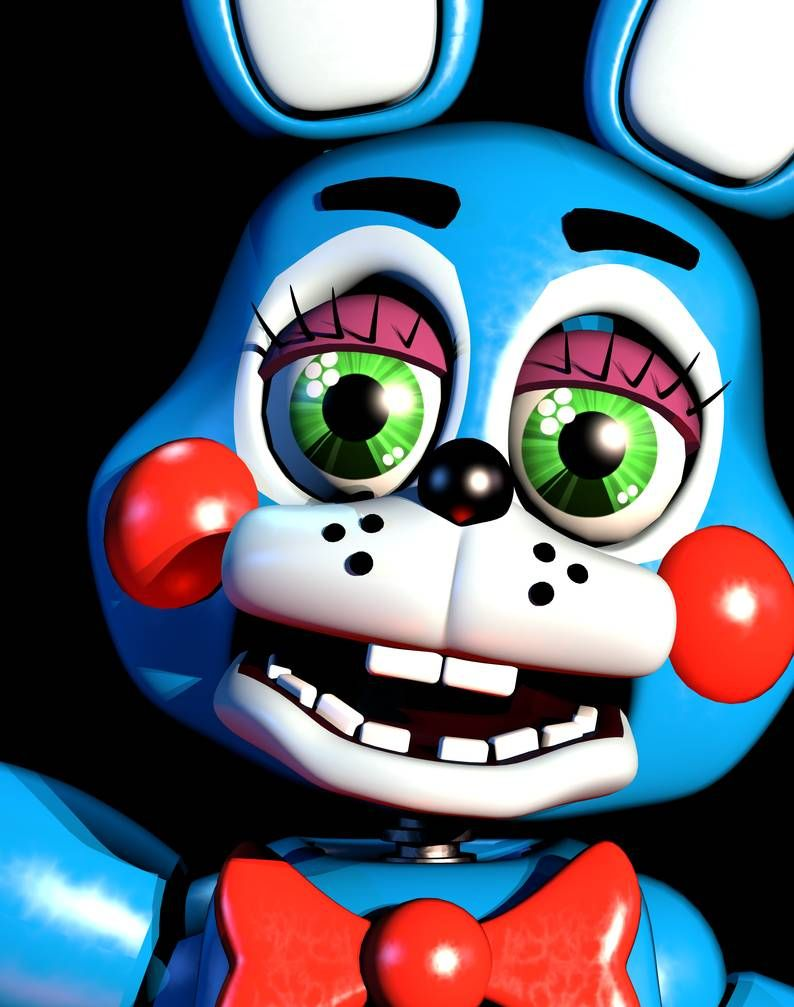 T Bonnie Ultimate Custom Night Mugshot Recreation By Andypurro Freddy Toys Fnaf Wallpapers Freddy S