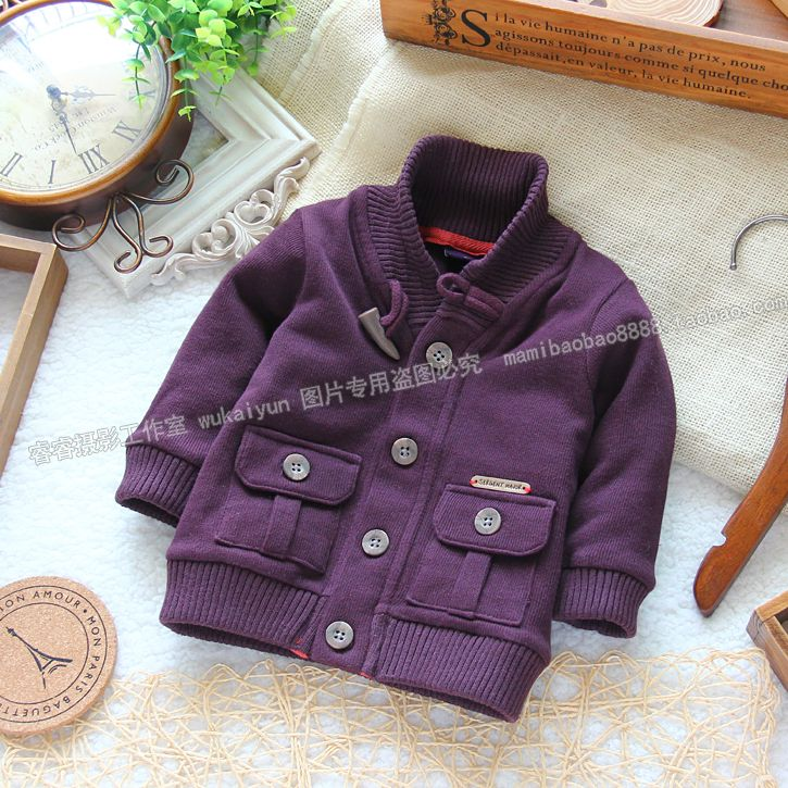 Awesome Free shipping male children outerwear top cardigan sweat ...