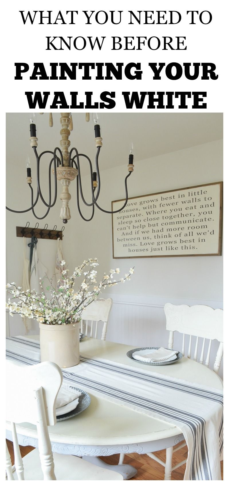 What To Know Before Painting Your Walls White White Beadboard