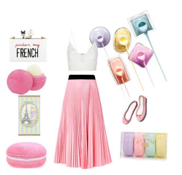 """""""Pardon my French"""" by farin12 ❤ liked on Polyvore featuring Narciso Rodriguez, Forever 21, Tome, Repetto, Cecilia Ma and Eos"""