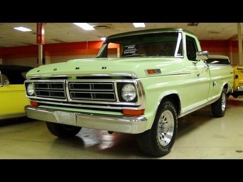 Awesome 1972 Ford F250 Sport Custom 360 V8 Restored Classic