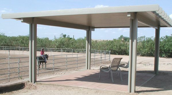 Aluminum Patio Covers Are Attractive And Versatile. They Are An Excellent  Alternative For Many Of