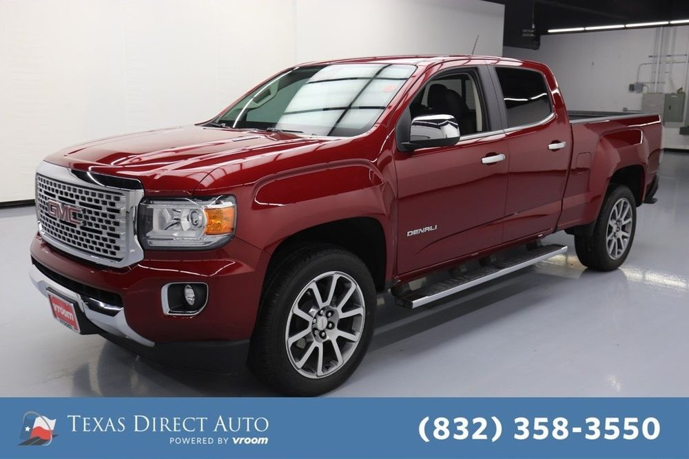 For Sale 2018 Gmc Canyon 4wd Denali Texas Direct Auto 2018 4wd