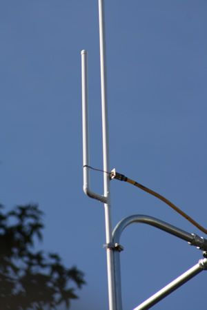 Home Brew Dual Band j-pole antenna plans Your going to like this 2
