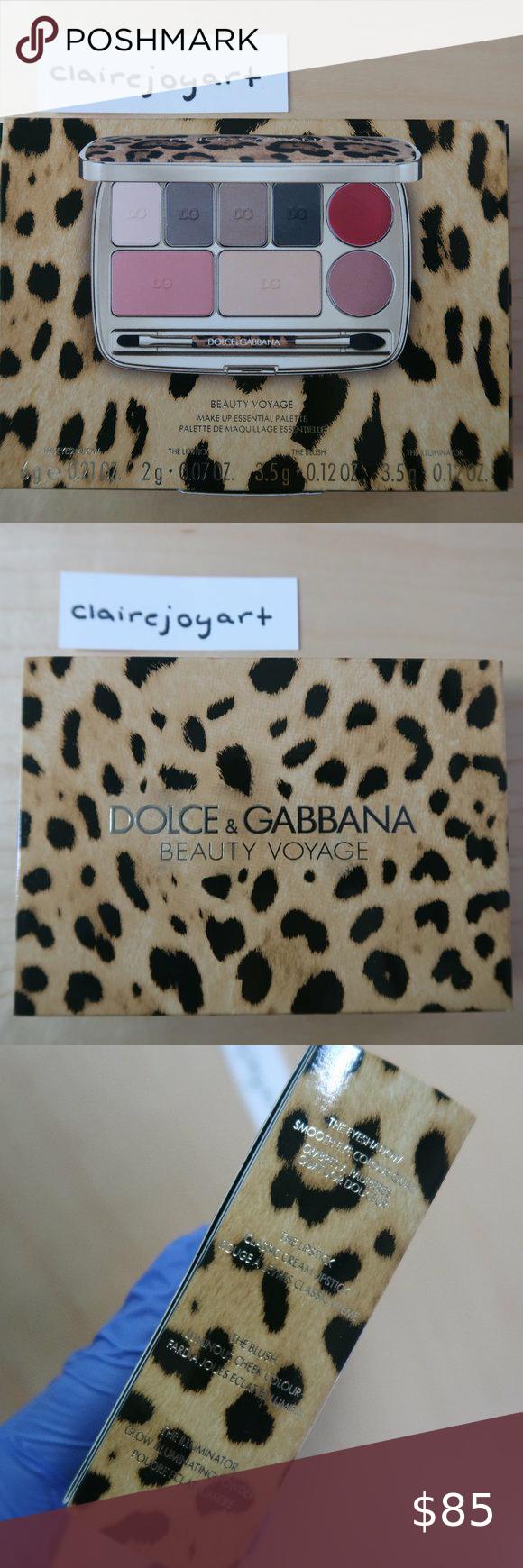 60 Off Dolce Gabbana Beauty Voyage Face Palette Dolce And Gabbana Dolce And Gabbana Makeup Gabbana