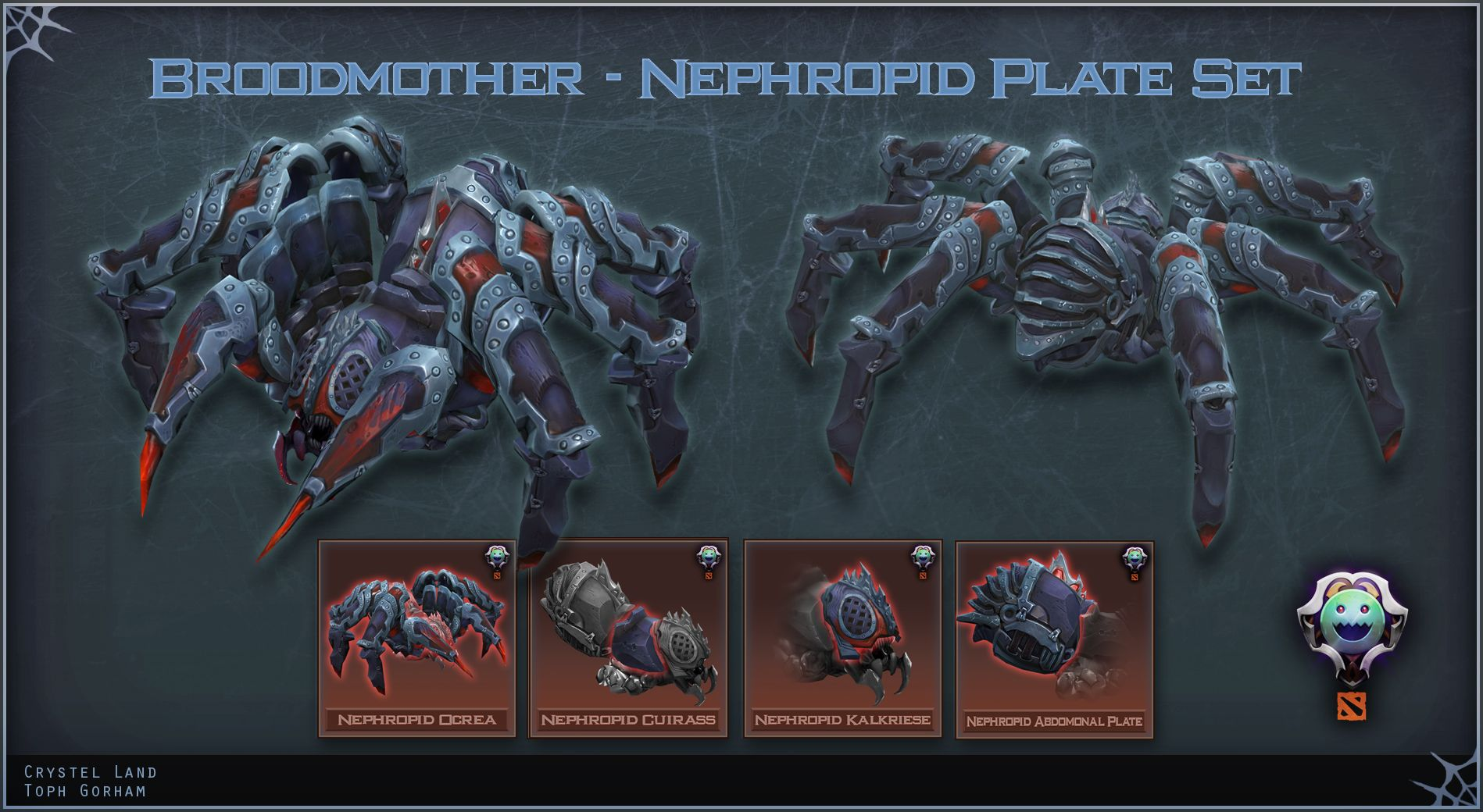 broodmother dota 2 sets artwork i want this dota 2 pinterest