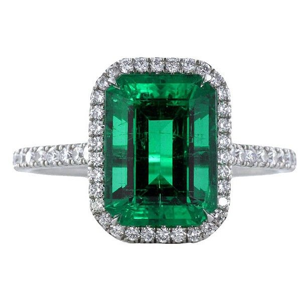 2 4ct Columbian Emerald Ring Rings Colombian Emerald