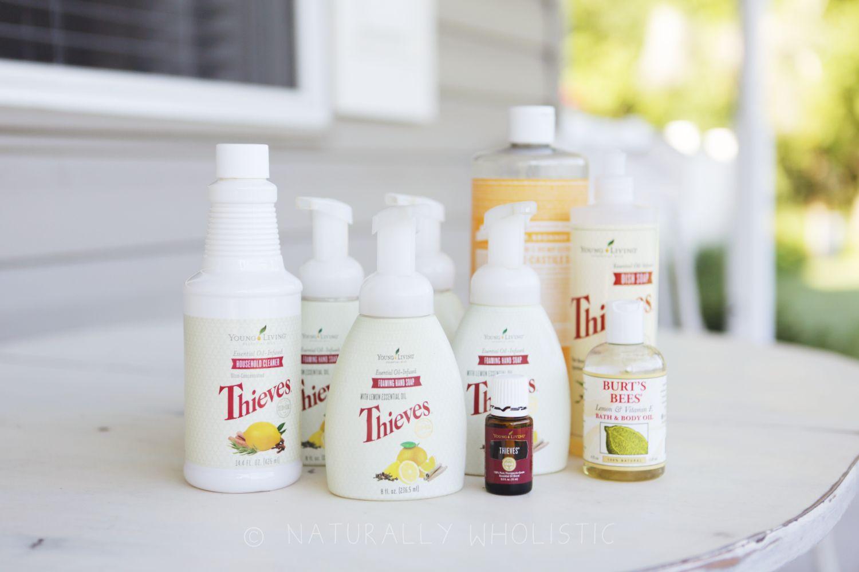 Diy thieves hand soap recipe in 2020 essential oils
