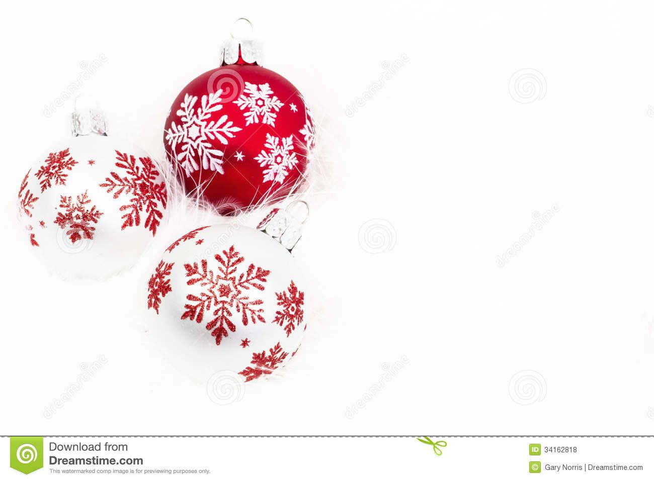 christmas ornaments red and white google search