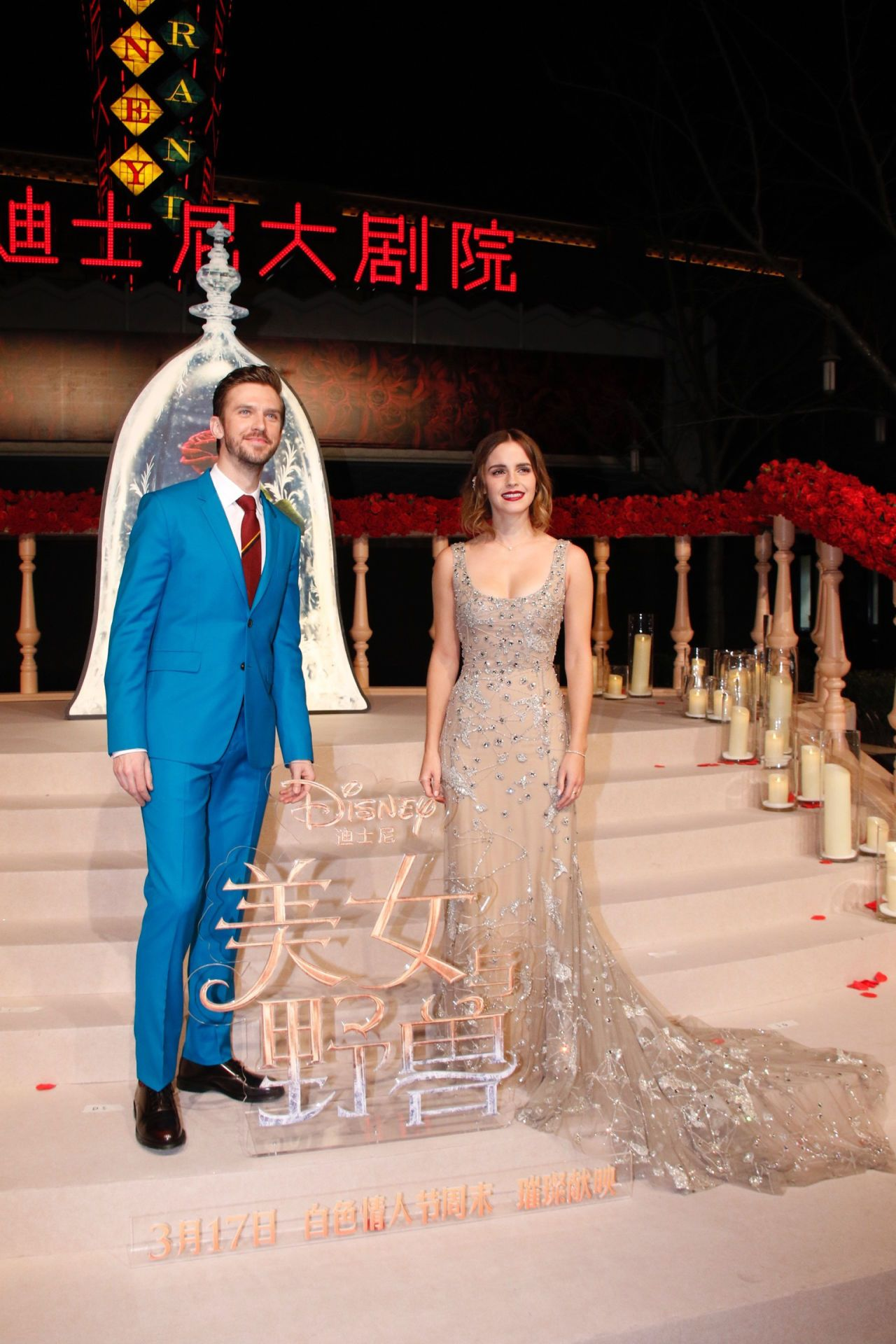 Meanwhile in china emma watson just wore the best dress that wasnut