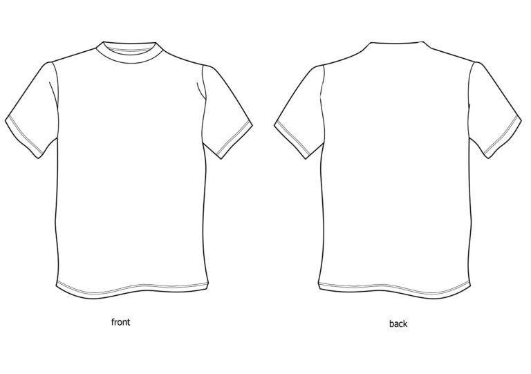 Download Free Tshirt Template Download Free Clip Art Free Clip Art Regarding Blank Tshirt Template Printable Shirt Design
