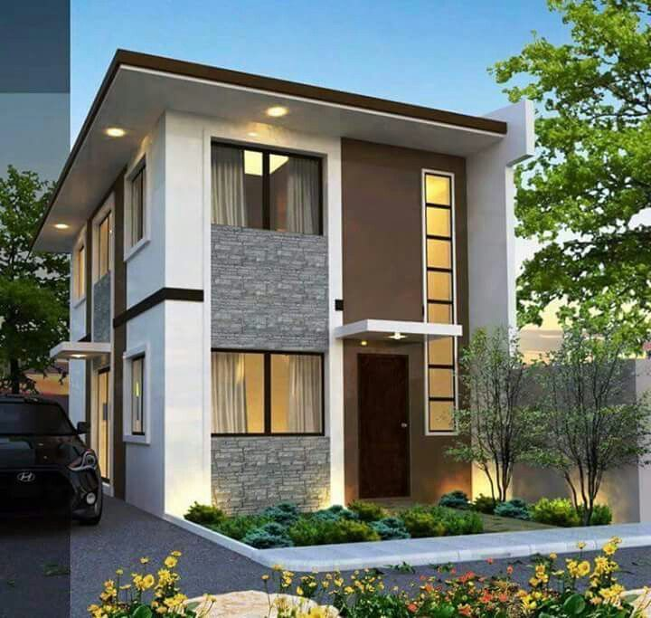Modern house design villa philippine houses architecture plans also best homes images future diy ideas for home floor rh pinterest
