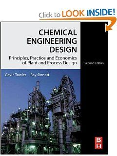Chemical Engineering Design Second Edition Principles Practice