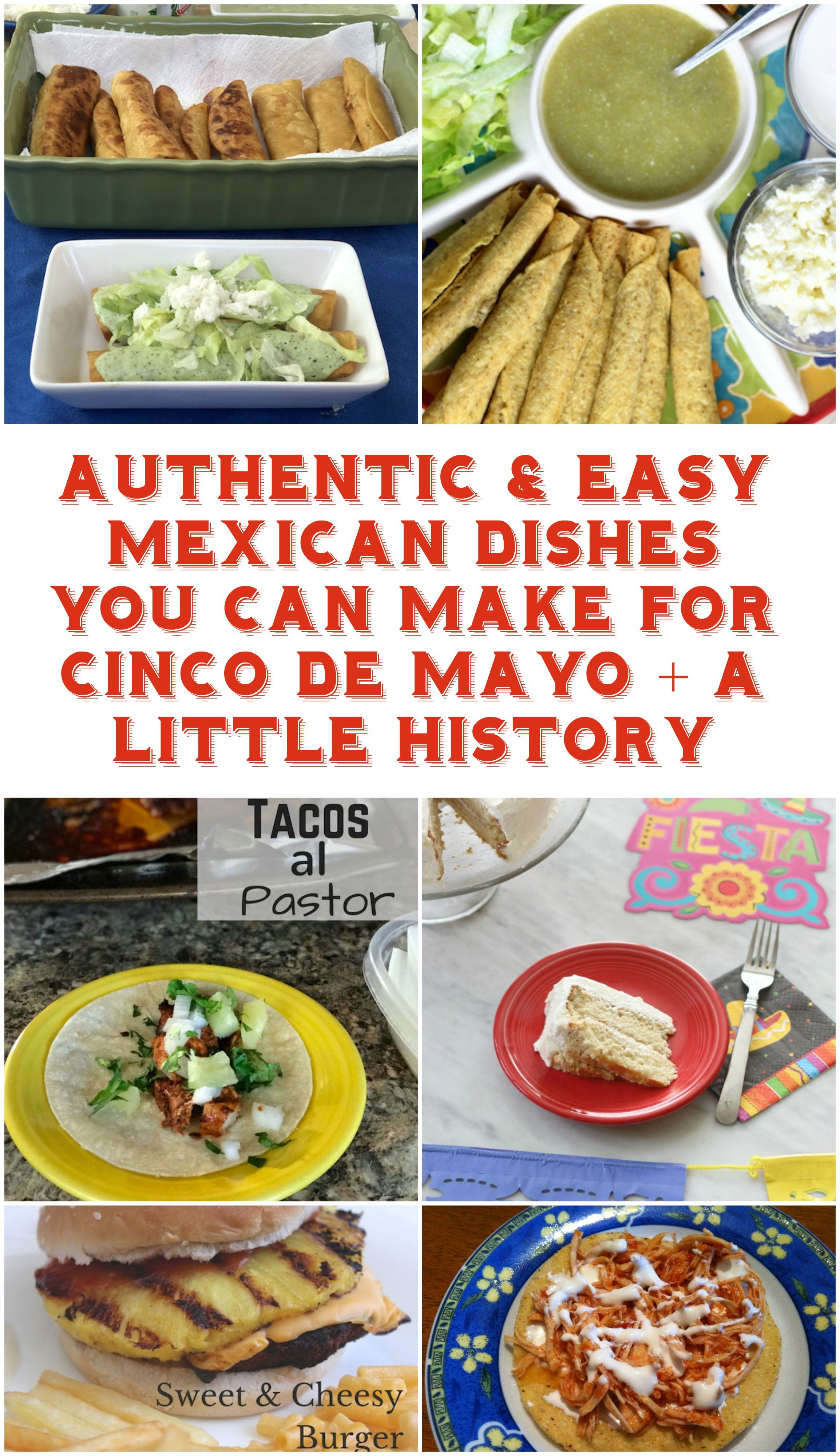 Authentic easy mexican dishes you can make for cinco de mayo a authentic easy mexican dishes you can make for cinco de mayo a little history forumfinder Choice Image