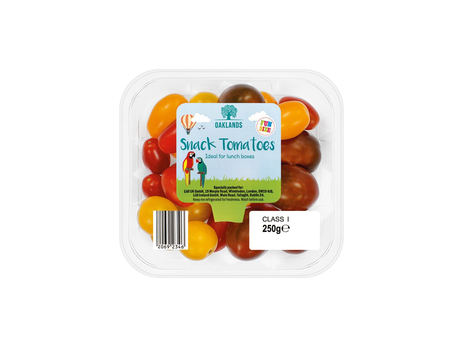 Oaklands Fun Size Snack Tomatoes At Lidl Uk