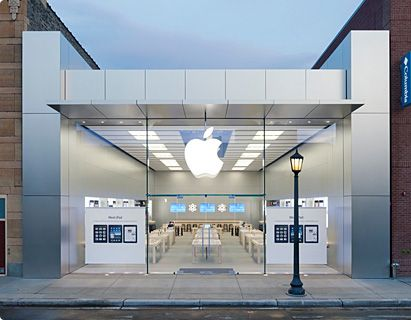 What A Great Looking Store Front Apple Store Apple Shop Apple Retail Store